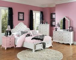 pearl white youth poster bedroom set  girls full bedroom set full size bed sheets for girls iicbun bed crea