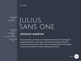 the ultimate guide to font pairing julius sans one offers a fine stroke and its broader baseline makes it a great display font offsetting well against the more masculine and geometric style