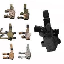 Military Tactical <b>Tornado</b> Gun Carry Case <b>Thigh Holster Hunting</b> ...