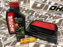 OHA Service Kit <b>for Yamaha YZF-R125</b> 2015-2018 - Motul Oil, Oil ...