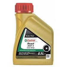 <b>Тормозная жидкость Castrol</b> React DOT4 Low Temp class 6 -цена ...