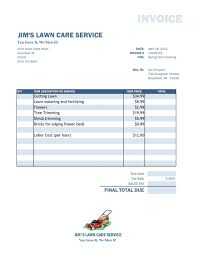 landscape billing software template design landscaping invoice forms landscaping invoice invoic landscaping landscape billing software 9609