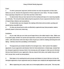 example essay on the death penalty   durdgereportwebfccom example essay on the death penalty