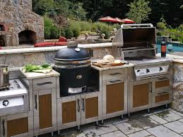 Countertop For Outdoor Kitchen Outdoor Kitchen Design Tool Stainless Steel Appliances Plus