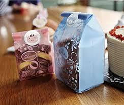 Daewoo - 50pcs Lot Plastic Biscuit Bags Baking ... - Amazon.com