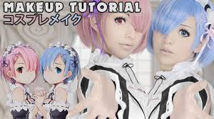<b>Rem</b> / <b>Ram</b> Re:ZERO <b>Cosplay</b> Makeup Tutorial ゼロから始める異 ...
