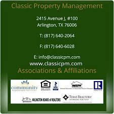 classic property management arlington tx yp com