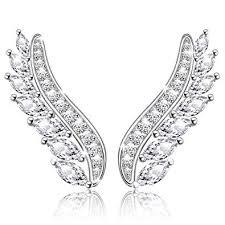 <b>MANBU</b> Halloween <b>925</b> Sterling Silver Charm <b>Fashion</b> Angel Wings