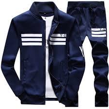 New <b>Spring Autumn Men's</b> Sporting Suit Set <b>Male</b> Tracksuit <b>Men</b> ...