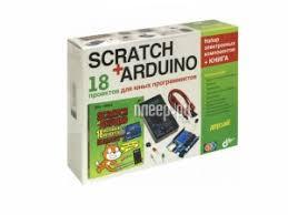 Купить <b>ARDUINO Дерзай</b>! <b>Scratch</b>+<b>Arduino</b> 18 проектов для юных ...