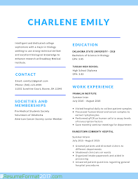the greatest student resume format resume format  student resume format example