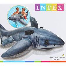 <b>Надувная игрушка</b> для плавания «Акула», 173х107 см, от 3 лет ...