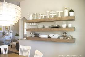 how to build simple floating shelves for any room in the house build floating