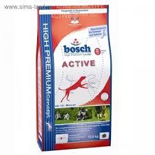 <b>Сухой корм Bosch</b> Active для активных собак, 3 кг. (2176763 ...