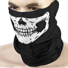 <b>Motorcycle Face Mask</b> SKULL Ghost Face Windproof Mask ...
