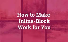 How to Make Inline-Block <b>Elements</b> Add Up to <b>100</b>% Width – UX ...