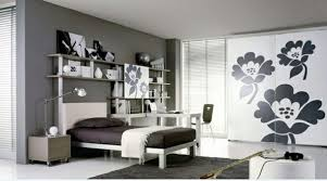 bedrooms ideas black white modern cabinet with flower pattern bedroom ideas black white
