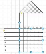 create a six sigma flowchart or house of quality diagram   visiosix sigma house of quality shape