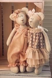 Игрушки Тильда <b>Мишки</b>. Выкройка   Швейные куклы, Куклы ...