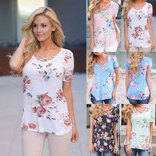 5XL <b>Large Size Spring Summer</b> 2019 Women T shirt Short Sleeve V ...