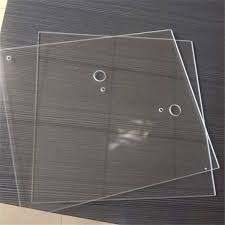 China <b>High Borosilicate Heat</b> Resistant Glass for Fireplace Door ...