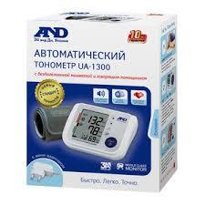 AND <b>UA</b>-<b>1300</b> автоматический <b>тонометр</b> с говорящим помощником