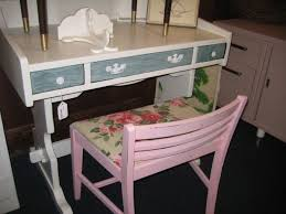 beachy furniture decorating ideas with pink chair cushion and desk ideas beachy furniture