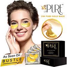 LA PURE 24K Gold Eye Treatment Masks - Under ... - Amazon.com
