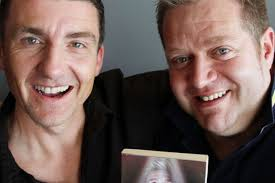 Paul Stephenson and Steve Sand aka actor Matt Lee Alliston. A MASTER class in branding raised eyebrows at a business event that almost didn't happen. - paul-stephenson-and-steve-sand-aka-actor-matt-lee-alliston-420953575