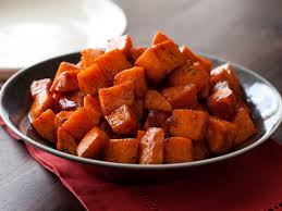 Resultado de imagen para Grilled Sweet Potatoes with Brown Sugar Butter Glaze