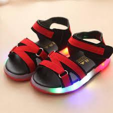 Summer Led <b>Boys</b> Brand Beach <b>Sandals Children</b> Fashion Baby ...