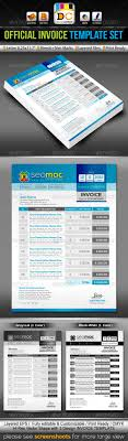 seomac official invoice cash memo template set by contestdesign seomac official invoice cash memo template set proposals invoices stationery