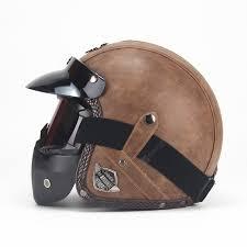 Four Seasons Vintage Helmet Handmade Personality Retro Harley ...
