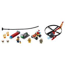 <b>Конструктор Lego City Fire</b> Пожарный спасательный вертолет ...