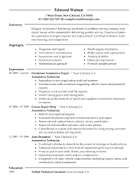 auto technician resume sample resume automotive technician sample service technician resume cv format for hvac engineer hvac