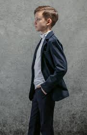 Тёмно-синий <b>пиджак</b> для мальчика <b>PlayToday</b> 393441 – купить в ...