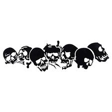 <b>22.8 * 6.7CM Skull Vinyl</b> Car Stickers Mo- Buy Online in Cambodia ...