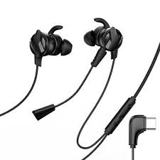<b>BASEUS GAMO Type-C Wired</b> Earphone PUBG Gamer Gaming ...