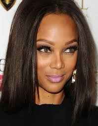 Case in point: Tyra Banks at last night's 20th cycle gala for America's Next Top Model. tyra-banks-makeup. Tyra's skin tone is most definitely warm, ... - tyra-banks-makeup-h724
