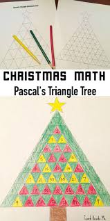 graber work triangle christmas math puzzle pascals triangle christmas tree