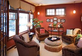 Red Wall Living Room Decorating Living Rooms Living Room Decoration Ideas That Add Warm Look