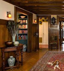 home accents interior decorating: others comment i love the wood panelling and the knights helmet in the hall way i really like this old english medieval home decor
