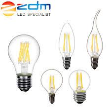 <b>ZDM LED</b> Candle <b>bulb</b> C35 G45 ST64 vintage <b>lamp</b> E14 <b>LED</b> E27 ...