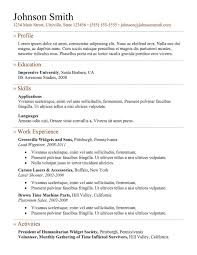 resume format for server resume templates professional cv resume format for server resume templates professional cv format