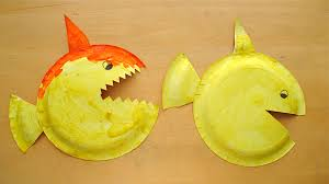 paper plate fish sharks mommyapolis advertisements