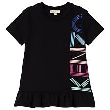 Kenzo - <b>Платье Logo Dress</b> Black - ru.babyshop.com