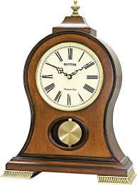 Деревянные <b>настольные часы Rhythm</b> CRJ721NR06 купить по ...
