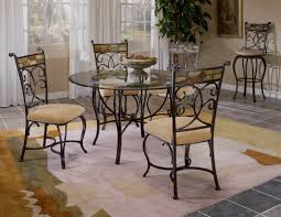 small glass kitchen table sets