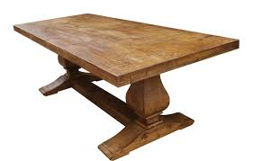 wooden trestle dining table modern home interiors