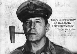 Douglas MacArthur quote poster | jivespin